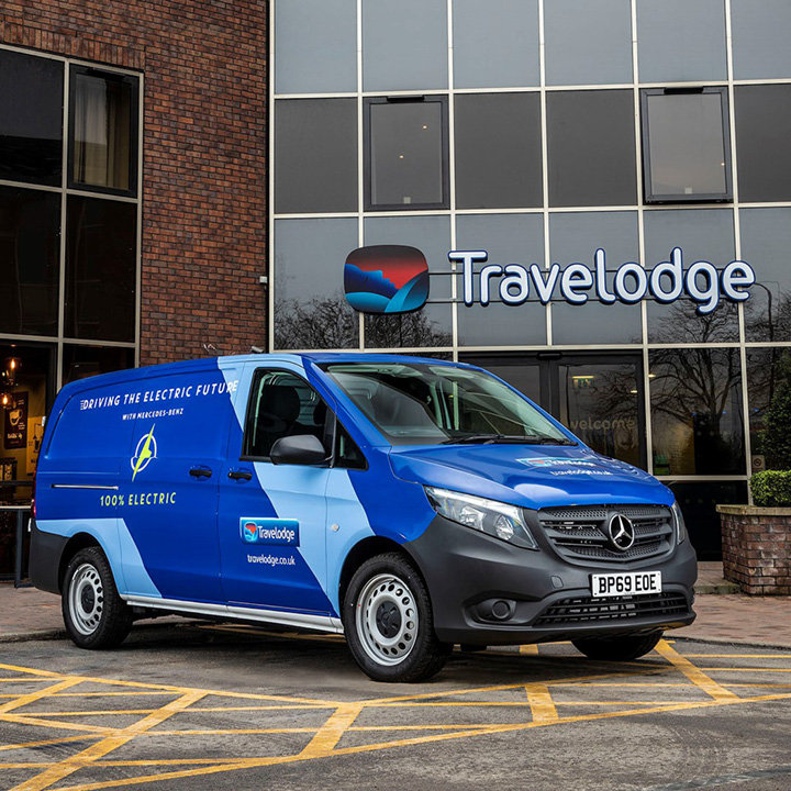 Fully-electric Mercedes-Benz eVito wins a positive reception at Travelodge: image