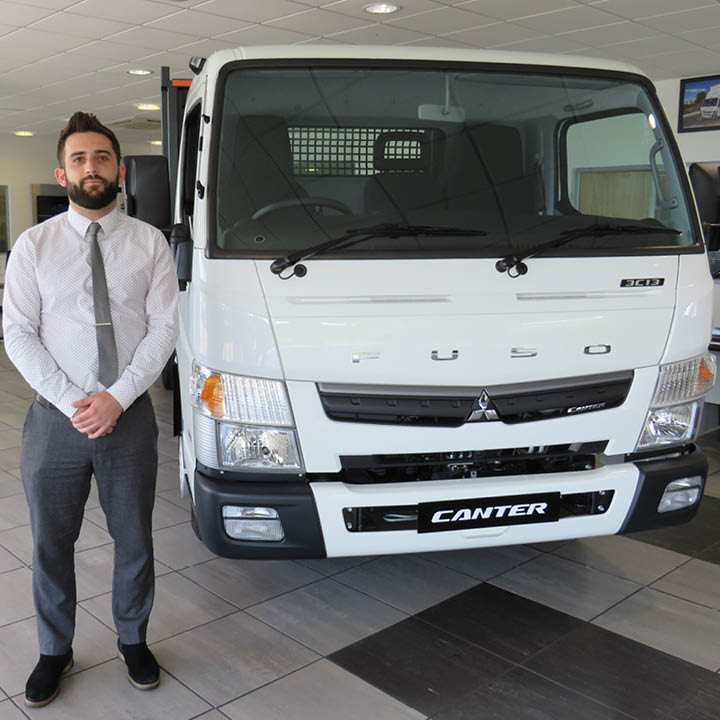 Meet our new FUSO Canter Specialist Kevin Gibney: image