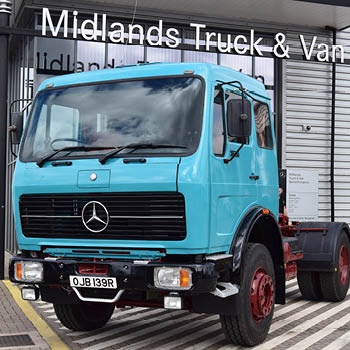 Restoring a classic Mercedes-Benz Truck, originally built in 1977: image